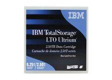 10 pack IBM 00V7590 LTO6 Data Cartridge 6TB Storage Capacity (NEW)
