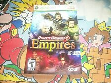 Dynasty Warriors 6 Empires NO GAME Xbox 360 MANUAL ONLY X box