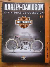 FASCICULE 37  MOTO COLECCION HARLEY DAVIDSON MODEL 5D 1909