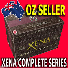 *NEW* XENA WARRIOR PRINCESS COMPLETE SERIES 1 - 6 SEASONS 1 2 3 4 5 6 DVD SET R4