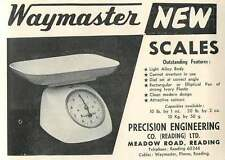 1953 Precision Engineering Meadow Road Reading Scales Ad