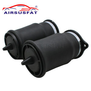2X Air Suspension Spring Bag For Mercedes W639 Vito Viano 6393280101 6393280201