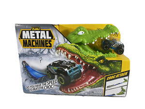 METAL MACHINES Croc Attack Monster Truck Playset by Zuru w/Bone Crusher - NEW!