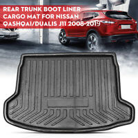 Rear Trunk Cargo Mat Boot Cargo Liner Tray For Nissan Qashqai / Dualis J11 08-19