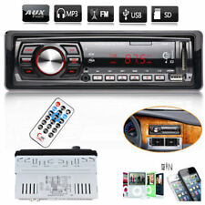 Car Radio Stereo Head Unit Player MP3/USB/SD/AUX-IN/FM Radio Player Remote UK