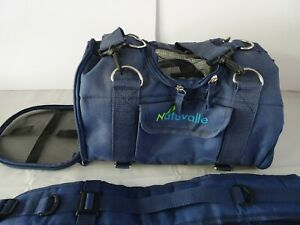 NATUVALLE 6-IN-1 STURDY PET CARRIER BACKPACK SIZE SMALL