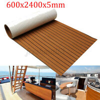 240x60CM EVA Foam Boat Solid Timber Marine Teak Decking Flooring Mat   NEW y