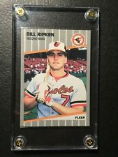 1989 Fleer Bill Ripken Error #616 Mint/NM Baseball Card