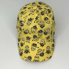 despicable me Yellow Hat Cap Kids Hat Outdoors Cap c43