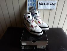 """Air Jordan Spizike """"Do You Know / White Fire Red Black"""" 2010 Size 9.5"""