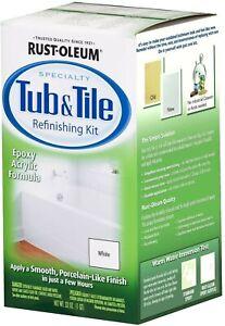 Rust-Oleum® Specialty White Tub & Tile Refinishing Kit - 1 qt
