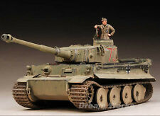 "Award Winner Built Tamiya 1/35 DAK 501st Tiger 731 ""Norbert"" +Figure+PE/Metal"