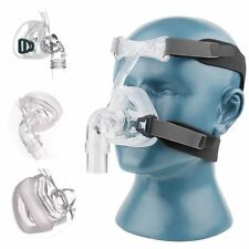 BMC NM2 Nasal Mask For CPAP Masks Interface Sleep & Snore Strap With Headgear