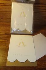 "8 ct "" Thank You Cards  ""  Anniversary, Wedding * Golden Anniversary Wishes *"