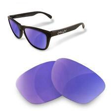 Fit&See Lentes de Recambio Polarizada para Oakley Frogskins ( Purple Mirror )