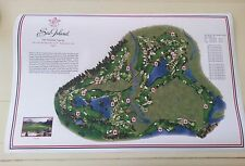 "Sea Island  - Vintage Golf Course Maps print (30"" x 19"")"