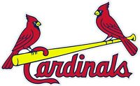 "St Louis Cardinals MLB Vinyl Decal - You Choose Size 2""-46"""