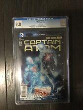 CAPTAIN ATOM # 7 / The new 52! / CGC Universal 9.8 / May 2012 / DC COMICS