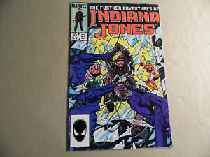Further Adventures of Indiana Jones #27 (Marvel 1985) Free Domestic Shipping