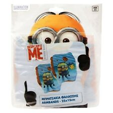 Despicable Me Minions Swimming ArmBands Cuffs Summer Holiday Pool Water Fun Play