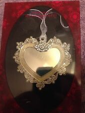 Things Remembered Regal Elegant Heart Ornament  •NIB•