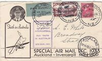 AFC39) New Zealand 1933 Faith in Australia cacheted cover