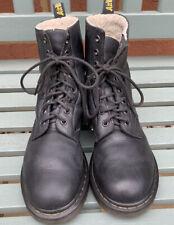 Dr. Martens 1460 Serena Fur Lined Womens 7 Black Boots