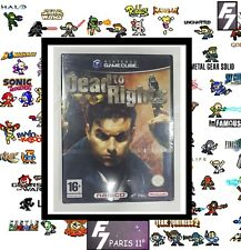 DEAD TO RIGHTS NINTENDO GAMECUBE NEUF* NEW* VERSION FRANCAISE.