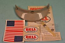 NOS Vintage Motorcycle Grey Bell Helmet 520 VISOR Toptex TX500 R/T Magnum