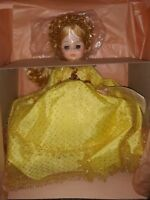 "Vintage Madame Alexander 14"" Sleeping Beauty Doll #1595, Gold Dress"