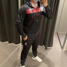 Emporio Armani EA7 Tracksuit pants Sweatshirt Man 6gpv60 Carbon Melange