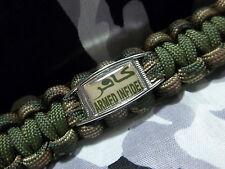 ARMED INFIDEL Proud American Anti-Terrorism 550lb Paracord Key Fob w/ Carabiner