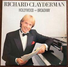 "RICHARD CLAYDERMAN,HOLLYWOOD & BROADWAY,VINTAG,12"" LP 33.EXCELLENT CONDITION"