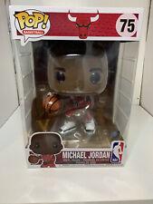 "Funko Pop! NBA: Bulls Michael Jordan #75 10"" Figure MINT"