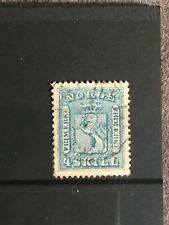 SCOTT #14 1867-68 NORWAY STAMP USED
