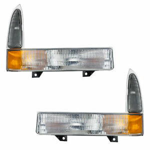 OEM NEW Front Right & Left Parking Turn Signal Light Lamp Super Duty Excursion