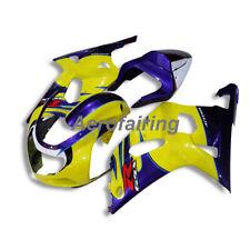 Conjunto De Cuerpo Pintado Carenado Carrocería BG para Suzuki GSX-R 600 750 K1 2001 2002 2003