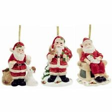Royal Albert Musical Christmas Ornaments - Santa's Friends (Set of 3)