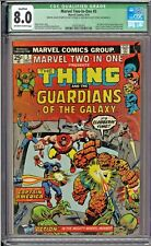 Marvel Two-In-One #5 CGC 8.0 (Q) Guardians of the Galaxy Yondu Captain America