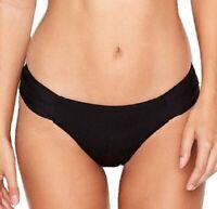 NWT Victorias Secret VS Swim Knockout Ruched Side Bikini Bottom Black XS
