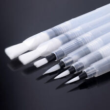 6Pcs Refillable Pilot Water Brush Ink Pen For Watercolour Painting Calligraphy p