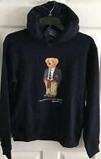 "NWT-POLO RALPH LAUREN Men's Navy Special Edition ""Polo Bear"" Pullover Hoodie XXL"