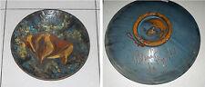Piatto Ceramica smaltata LA BISBAL SALAMO Girona Spagna Plato vidriada Toro Dish