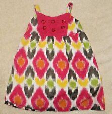 EUC Gymboree Batik Summer Rhinestone Dress Size 3-6 3 6 Months
