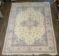 "Estate sale rug authentic handwoven herize circa 1970s size 7'6""x10ft  vintage"