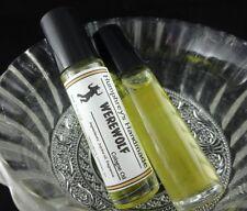 WEREWOLF Men's Cologne Oil, Roll On Citrus Cedar Vetiver Pepper Musk Jojoba Oil