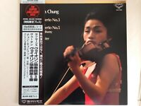 KYUNG-WHA CHUNG SAINT-SAENS VIOLIN CONCERTO No.3 JAPAN KING KIJC-9160 LP OBI