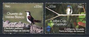 Peru 2011 Vögel Birds Oiseaux Uccelli Postfrisch MNH