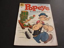 POPEYE-The Search for the Spinach Icebox #37July-Sept.1956-(4.0 VG) Comic Book.