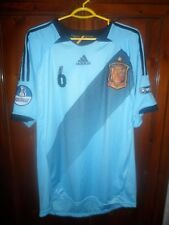 Iniesta 6 spain 2012 2013 away XL jersey shirt maillot camiseta fc barcelona ...